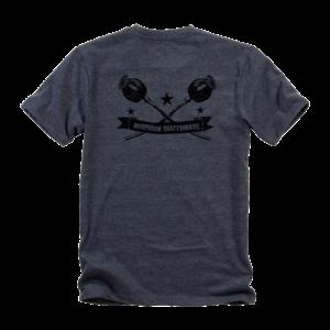 Morphium Skateboards T-Shirt Circle schwarz Rückenansicht
