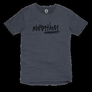 Morphium Skateboards T-Shirt Script schwarz