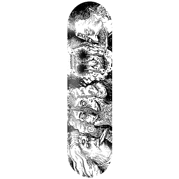 Morphium Skateboards Thinkers Deck