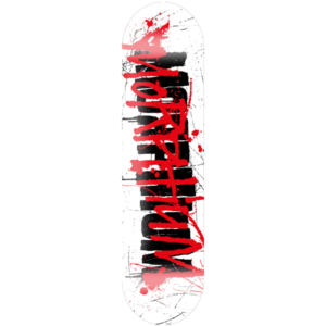 Morphium Skateboards Splatter Deck