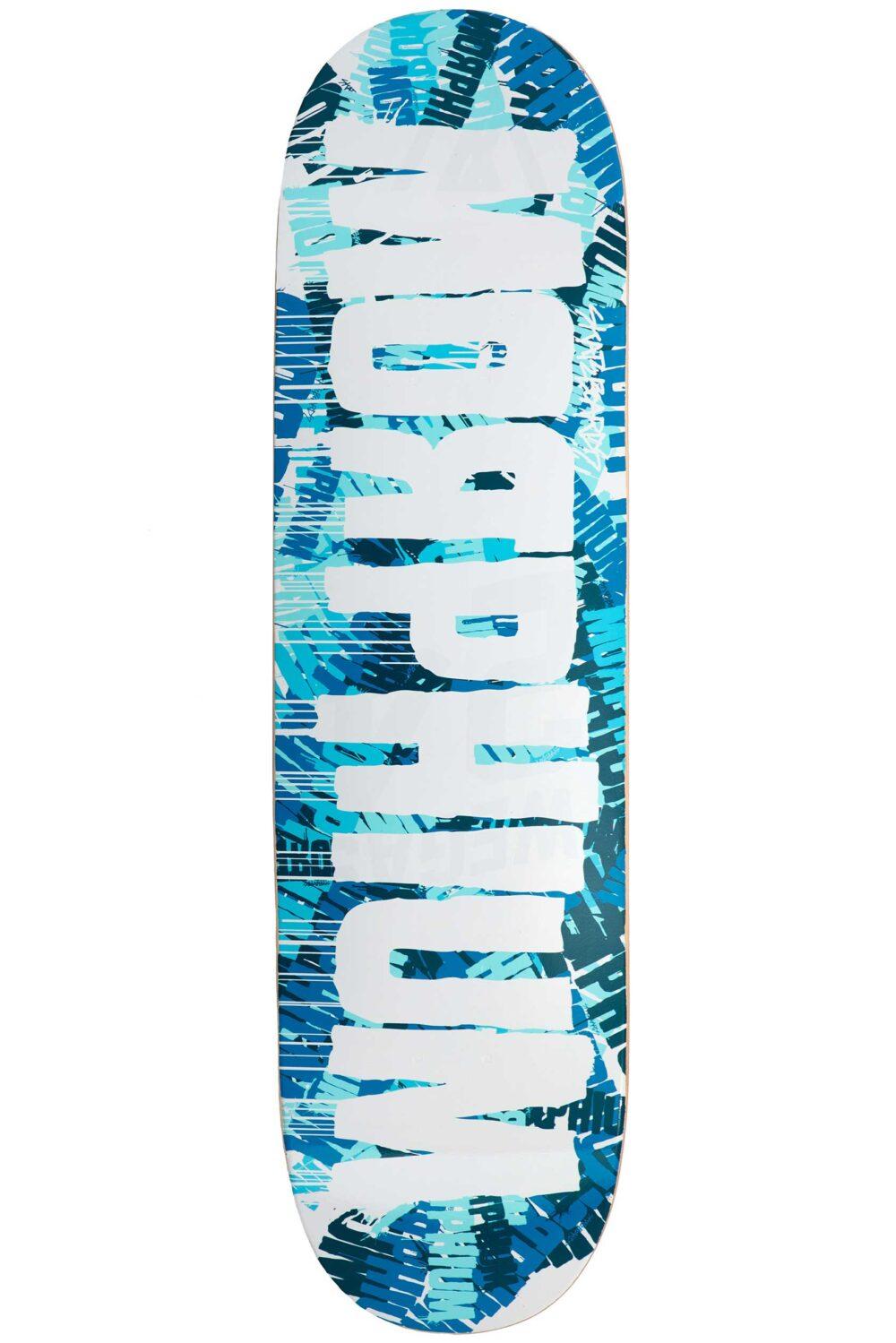 Morphium Skateboards Krink blue