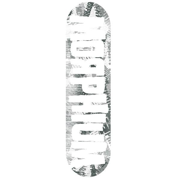 Morphium Logo Deck Krink Series grey