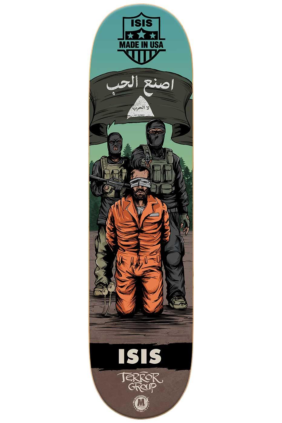 Morphium Skateboards Isis Deck